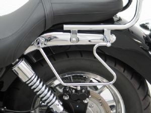 SPEEDMASTER & AMERICA Baggage Holders: Fehling Chrome Plated Steel.